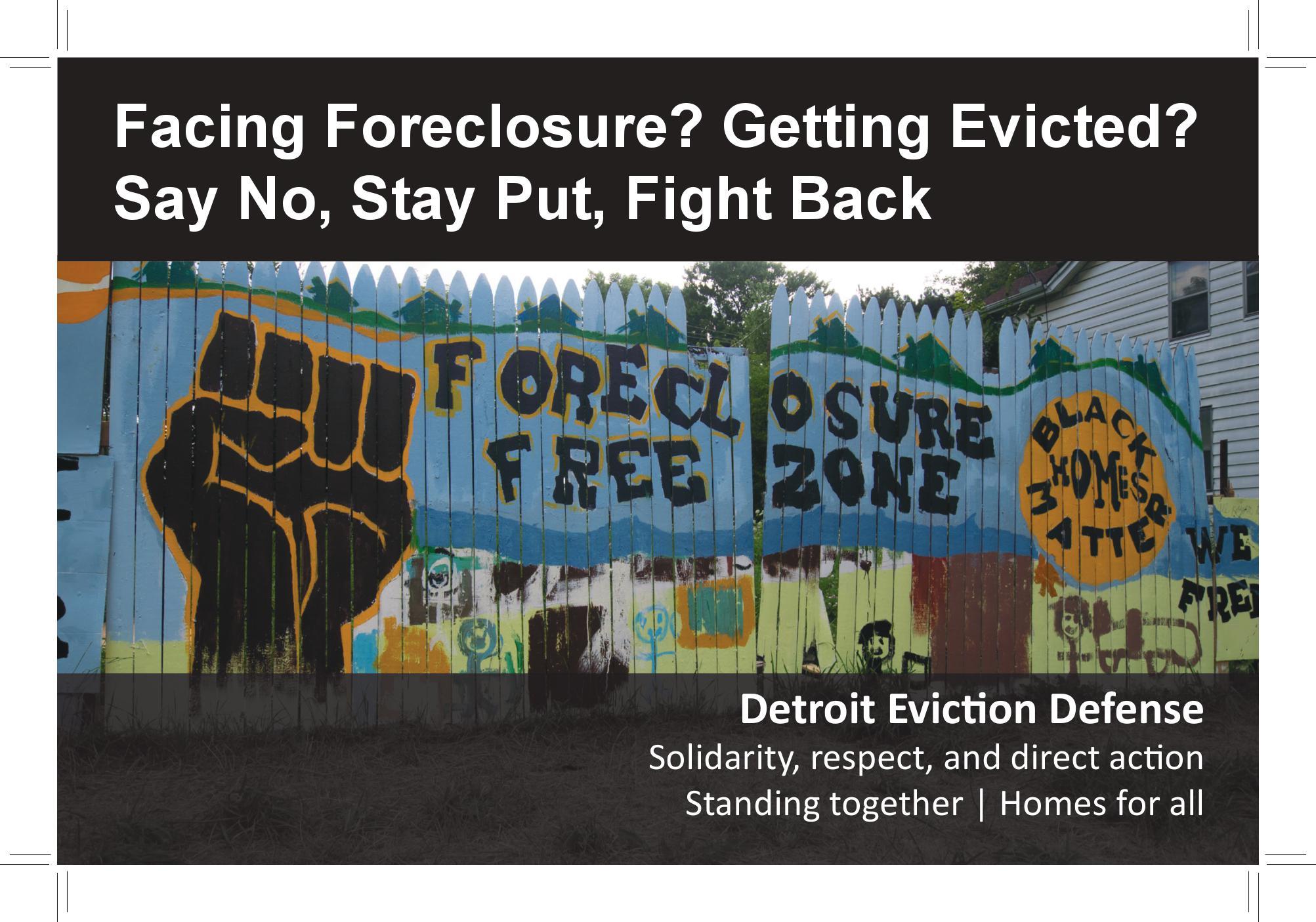 Foreclosure Assistance Grants
